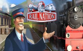 Teaser von dem von dem Browsergame Rail Nation