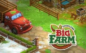 Teaser von dem Online Spiel Big Farm