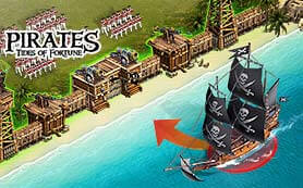 Teaser von dem Browsergame Pirates TIdes of Fortune